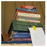 STACK OF ASSTD BOOKS