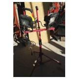 DOUBLE CRAFTSMAN LIGHT STAND W/ LIGHTS