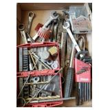 TOOLS: WRENCHES, ALLEN WRENCHES, BITS, ETC