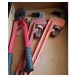 PIPE WRENCHES & BOLT CUTTERS