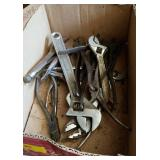 ASSTD CREASENT WRENCHES, VICE GRIPS, ETC