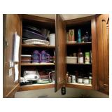 CONTENTS OF UPPER & LOWER CABINETS