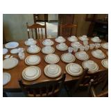 100+ PCS OF FIREKING DINNER WARE