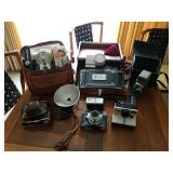 LOT OF ASSORTED CAMERA EQUIPMENT