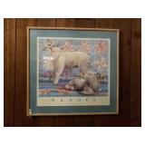 NANCY NONOEL STAR QUILT FRAMED PRINT