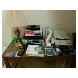 LOT OF ELECTRONICS, OFFICE SUPPLIES, ETC