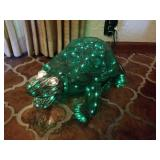 METAL LIGHTED MECHANICAL MOVEMENT TURTLE