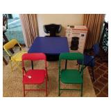 KIDS TABLE/CHAIRS, HARMONY CHILD BOOSTER SEAT