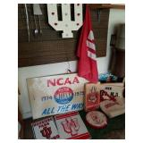 LOT OF ASSORTED IU ITEMS