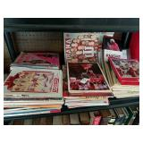 LARGE LOT OF IU PROGRAMS