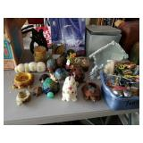 LARGE LOT OF FIGURINES
