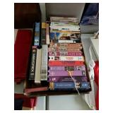 LOT OF VIDEOS, DVD, VHS
