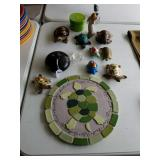 TURTLE COLLECTION & WILLOW TREE FIGURINE