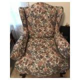 Flower Printed Chair