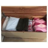 Cedar Chest with Contents