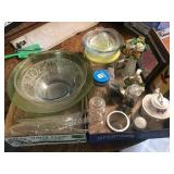 Green Glass Bowls