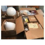 Variety of Light Bulbs & Dome Covers