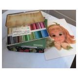 Pastel Chalks & Girl Prints