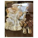 Vintage Baby Dresses & Shoes