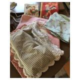 Vintage Baby Blanket & Pillow