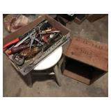 Tools, Stool, Crate