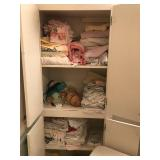 Contents of Cabinet Only - Linens