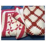 Pink and Red Quilts