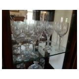 14 SMALL & LARGE WINE GLASSES
