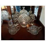 5 ASSTD PCS OF GLASS WARE