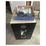 Two Drawer Metal Filing Cabinet, Lubitel166B and