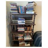 Book Shelf with Books: Religious, Encylopedias