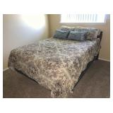 Full Size Bed, Headboard and Mattress