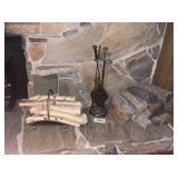 Fireplace Set, Fire Wood, Logs