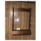 Wood Hanging Gun Rack