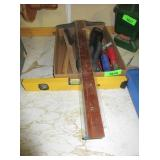 Hammers, Pliers, Level and More