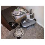 Crock Pot, Teapot, Food Press