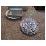 Decorative Plates and Serving Trays