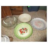 Pie Plates, Mixing Bowls