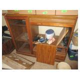 TV Cabinet with Slide Down Door