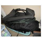 Suitcases, Laundry Basket