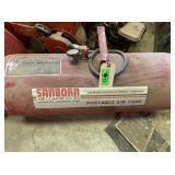 Sanborn  Portable Air Tank