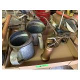 Oil Cans, Metal Cans with Spout