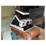Polaroid SX70 Camera and Misc