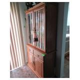 Wooden Hutch - Contents NOT Included