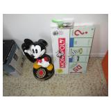 Mickey Mouse Phone, Monopoly, iPod