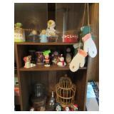 Christmas Figurines, Baskets*