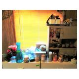 Candles, Containers,Artificial Plants, Glasses