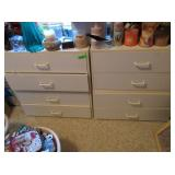 2) Chest of Drawers with Contents: Sentsy Wax,