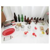 Restaurant Goods: Napkin Holder, Syrup Dispenser