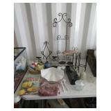 Decor Stands, Canisters, Electric Knife, Jars